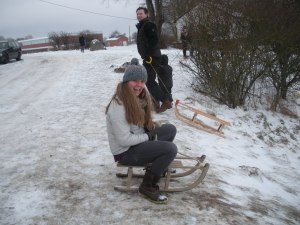 Look at that sled!