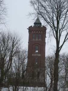 Tower in Scheersberg.