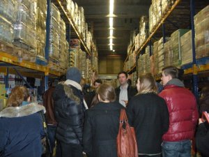EDEKA warehouse