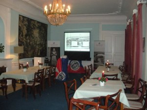 Room in which the roadshow took place